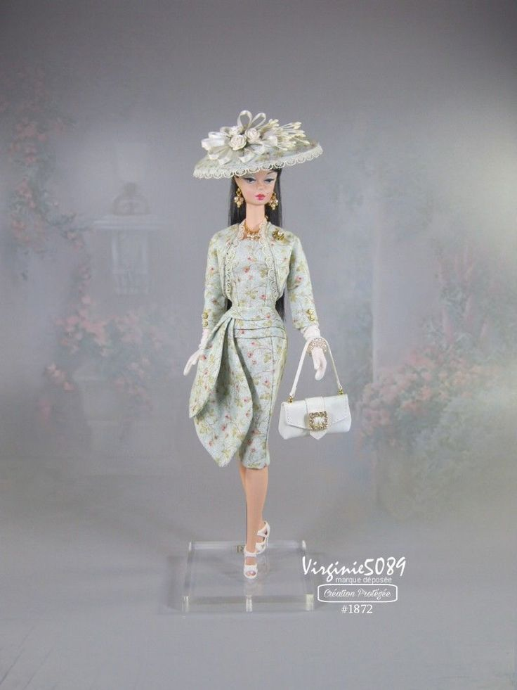 doll outfit / tenue complète fashion royalty barbie silkstone vintage #1872 | eBay
