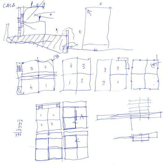 Residência Raumplan,Croqui 1