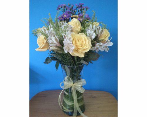 Elige las flores que más te gusten /Centro de mesa de boda