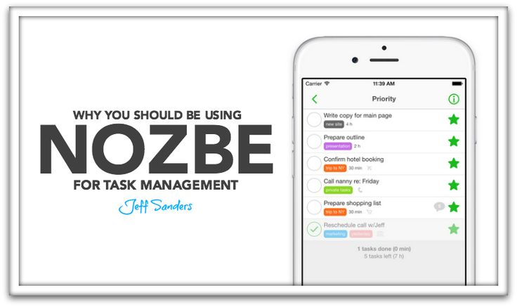 This article discusses why Jeff Sanders changed task management tools #nozbe #taskmanagement #tools #GTD