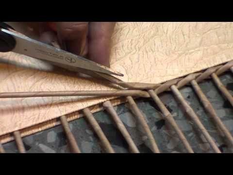 Секреты наращивания трубочек из газет - YouTube