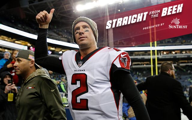 Readers ask about Falcons' playoffs chances, Julio Jones and give shout out to Dan Quinn