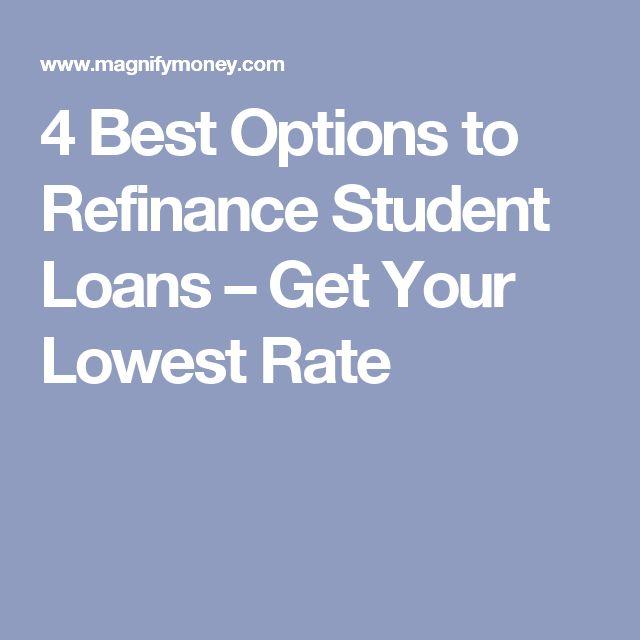 4 Best Options to Refinance Student Loans – Get Your Lowest Rate