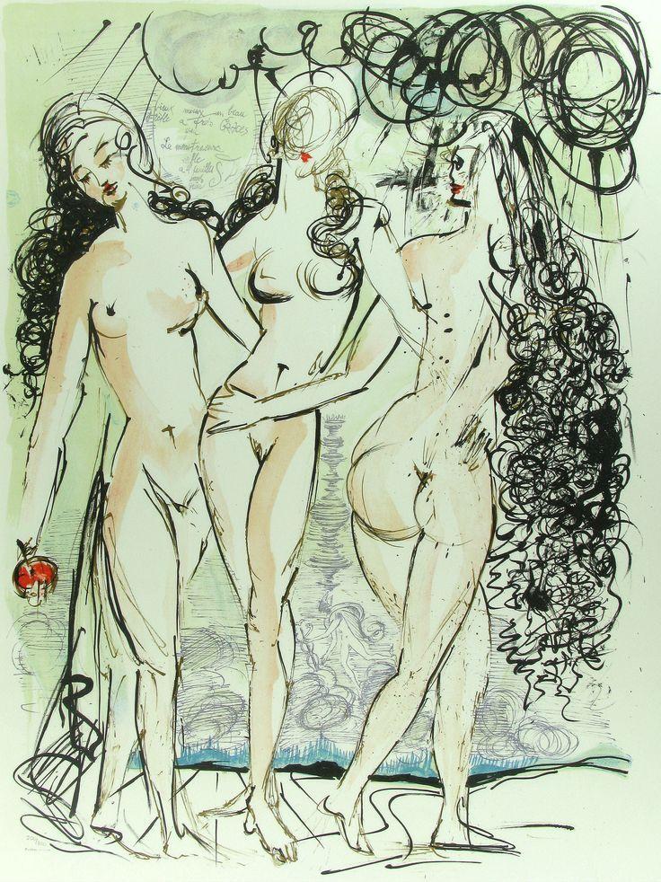 Salvador Dalí - Las Tres Gracias
