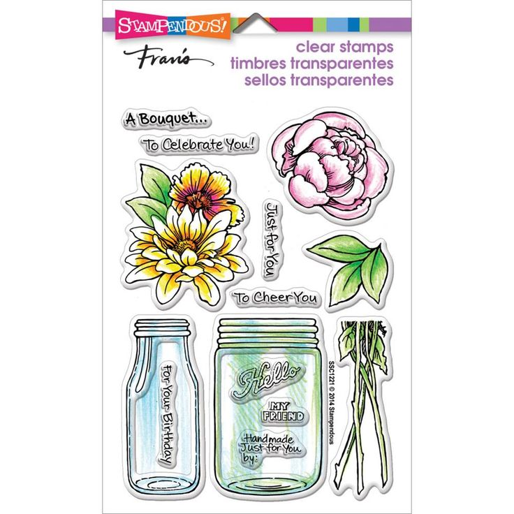 Штамп 10х15см, Bouquet For You | CuteCut