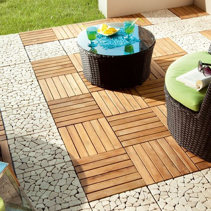 1000 ideas about dalle de jardin on pinterest dalle for Terrasse a clipser