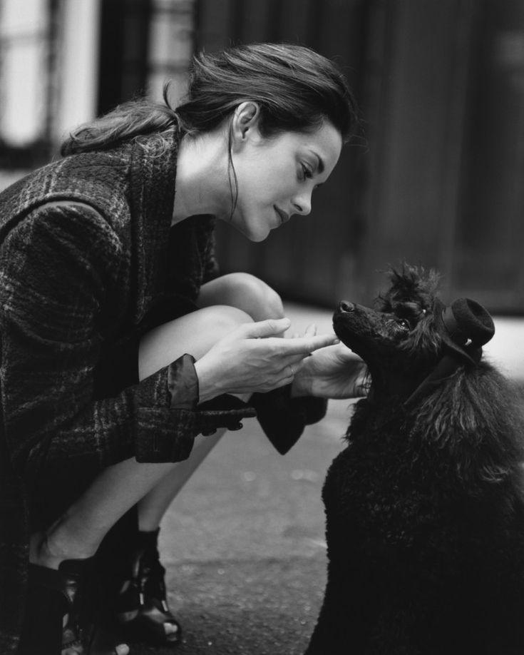 Marion Cotillard - Paris - by Bruce Weber for Italian Vanity Fair
