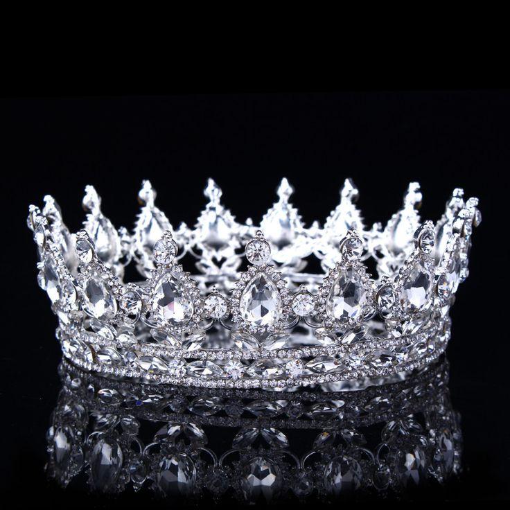 Hot European Designs Vintage Peacock Crystal Tiara Wedding Crown Bridal Tiara Accessories Rhinestone
