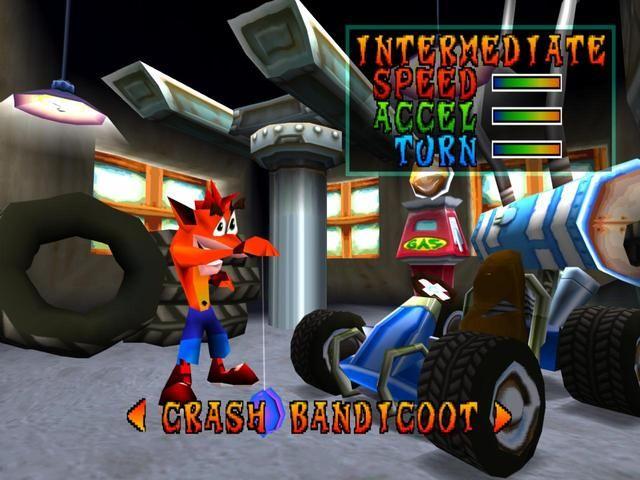 Crash Bandicoot: Warped Screenshot
