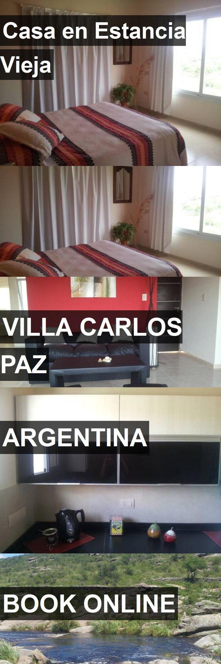 Hotel Casa en Estancia Vieja in Villa Carlos Paz, Argentina. For more information, photos, reviews and best prices please follow the link. #Argentina #VillaCarlosPaz #travel #vacation #hotel