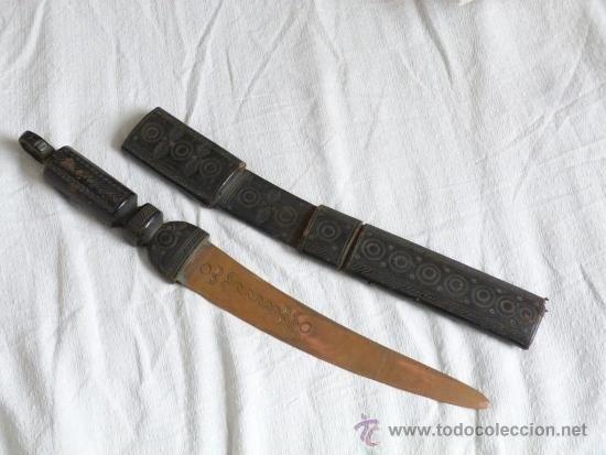 antigua arma africana de coleccion , funda de - Comprar Armas ...