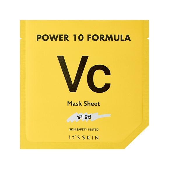 Power 10 Formula VC Маска тканевая с витамином С, 200.00 руб.   Тканевая маска с витамином C для привнесения свежей жизненности в тусклую кожу.    Тканевая маска из плотной мягкой микроволоконной ткани, пропитаннойcилой 10 высокообогащенных эссенций, каждый день снимает беспокойства Вашей кожи, подходит для любого типа кожи.  По сравнению с обычным волокном, в 150 раз более тонкое микроволокно (1.51 микрон) маски плотно прилегает к коже, эффективно передает все полезные качества…