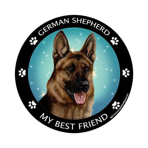 German Shepherd My Best Friend Dog Breed Magnet