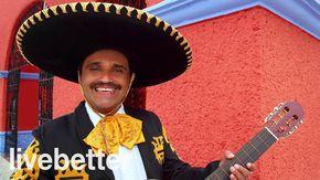 Música instrumental mexicana tradicional ranchera con mariachi con tromp...
