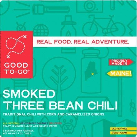 GOOD TO-GO Smoked Three Bean Chili - 2 Servings - REI.com