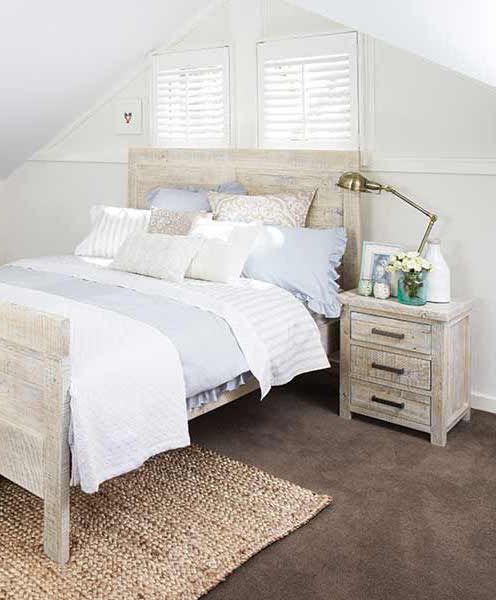 The Lyon Chic Whitewash Bedroom Suite From Bedshed