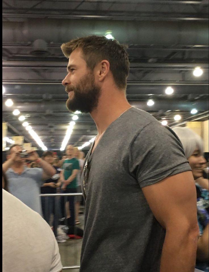 Biceps, pecs.....need I say more? Chris Hemsworth