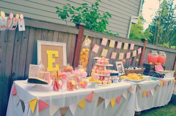Lemonade Stand 1st Birthday Party - Kara's Party Ideas - The Place for All Things Party