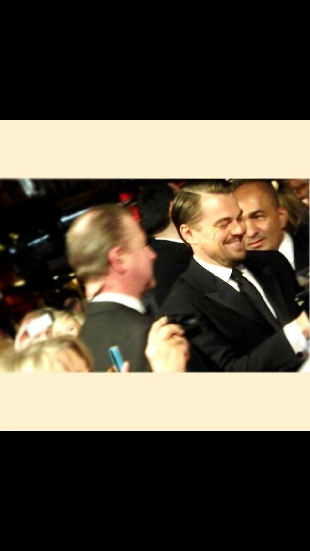 Leonardo DiCaprio at the BAFTA's   Among the whispers and champagne ... Leonardo Dicaprio