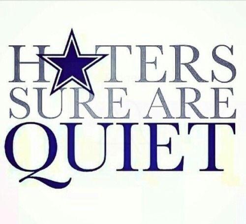 QUIET in Dallas Cowboys by esco691 - Tapiture