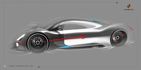Porsche Fuel Cell Vehlice | by Pan zhipeng
