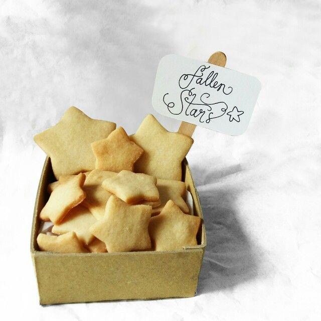 Fallen star cookies  Instagram : @qmjft