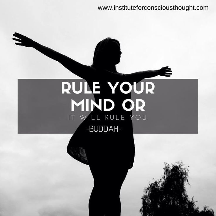 Rule your mind!