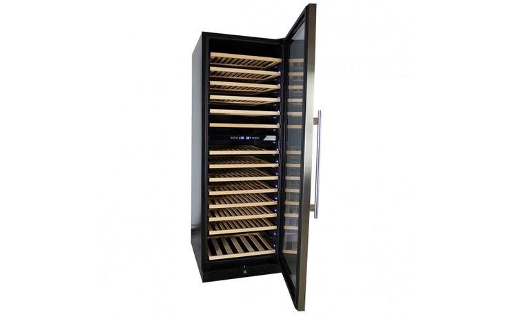 Wijnklimaatkast Premium met RVS glazen deur - 154 Flessen kopen?