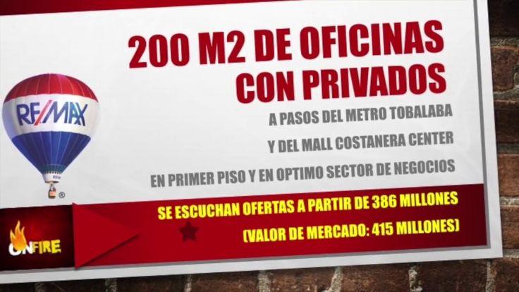 200 m2 de Oficinas con privados (Metro Tobalaba y Costanera Center)