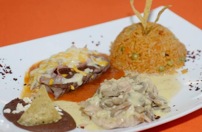 Un plato con sabor azteca