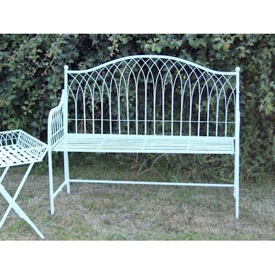 This gorgeous two seater bench in light blue is powder coated for a longer lasting finish. It is lightweight and can be folded for easy storage.This bench is available in blue, cream or green, please contact us for more information. We recommend putting your bench away inside when not in use throughout winter months or adverse weather to prolong the life of the paintwork.