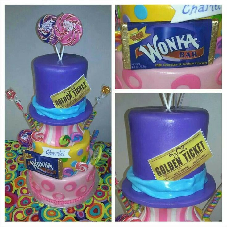 ... the chocolate factory baby shower cake! By Cakes2aT in Baltimore, MD
