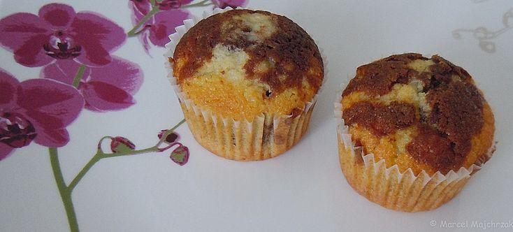 Chefkoch.de Rezept: Luftige Marmor-Muffins