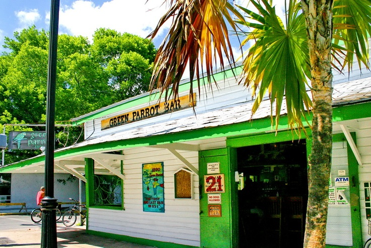 Green Parrot Bar - Key West, FL.....a fun vacation spot and this bar is always a good time!