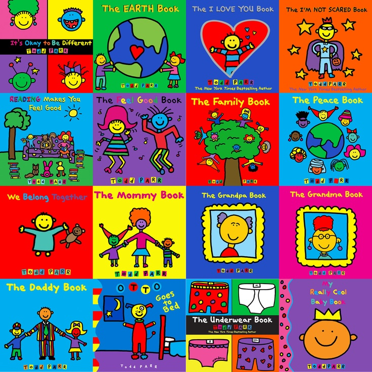 Todd Parr has written and illustrated over 30 children's books