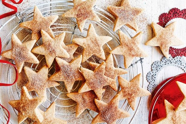 Add a touch of cinnamon to spice up your traditional shortbread recipe.