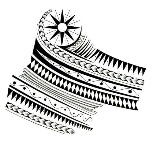 Maori Tattoo Designs Wallpaper: 1000+ Ideas About Tribal Shoulder Tattoos On Pinterest