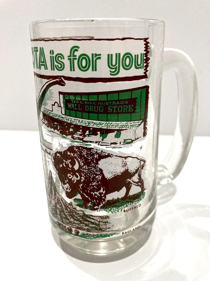 south dakota tourist souvenir mug wall drug store dinosaur on wall drug south dakota id=72704