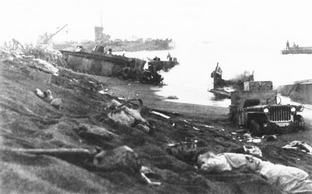 d-day pictures of the invasion