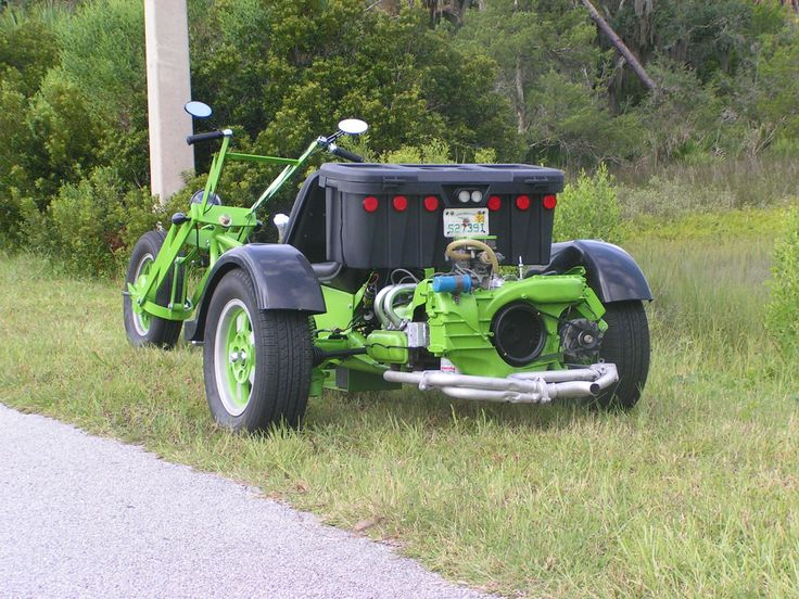 Granny Smith's Grocery Getter - A VW Trike