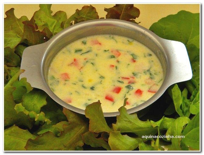 Molho de Iogurte Para Salada