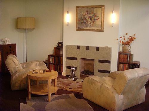 1930s Living Room: London Art Deco Interior By Mermaid99, Via Flickr Part 86