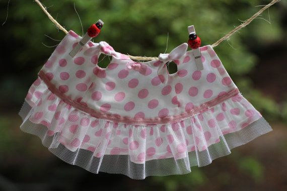 12 inch My Fashion Girl Doll Ruffled Sleeveless by RibizliDesign