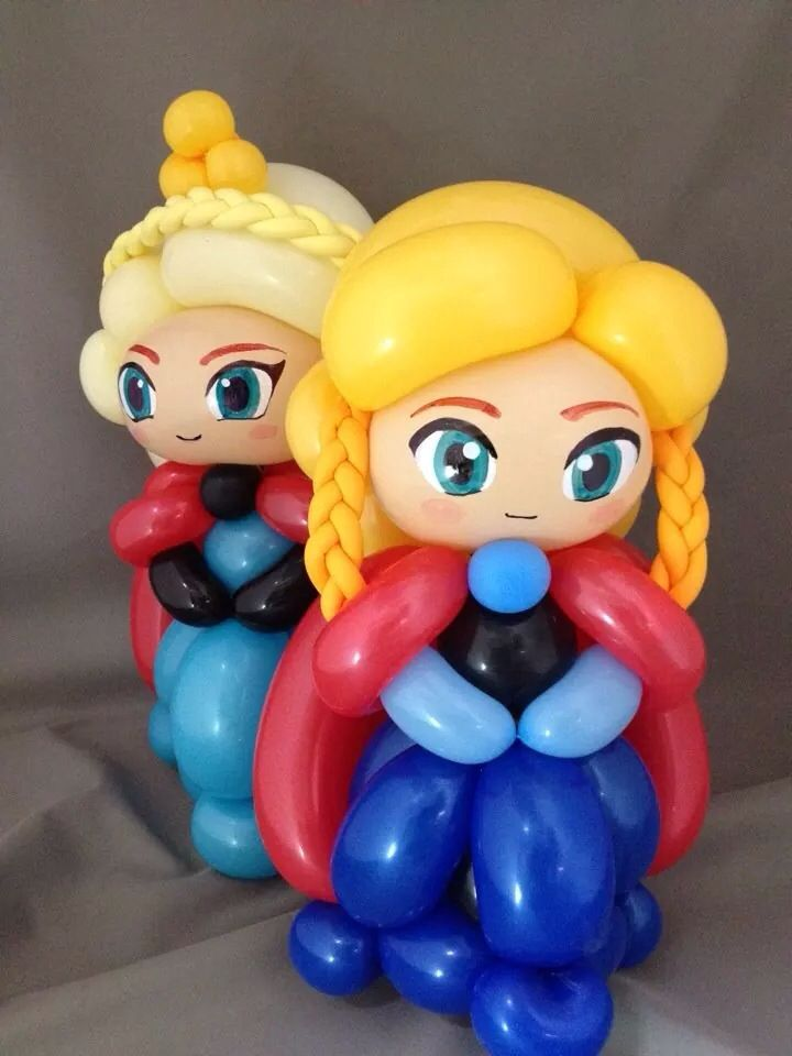 Frozen Twist Balloon Totally Twisted Characters