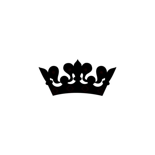 black crown clip art found on polyvore arts and crafts
