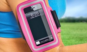 Groupon - $ 7.99 for a Merkury iPhone Running Armband ($ 29.99 List Price). Multiple Styles Available. in Online Deal. Groupon deal price: $7.99