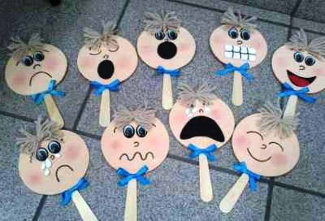 Marionetas de emociones