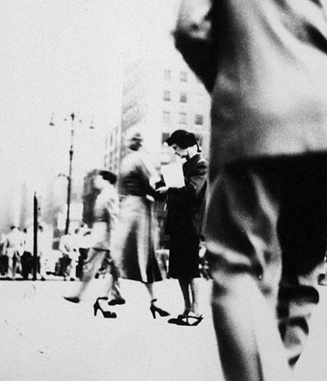 Saul Leiter, unknown title, 1940′s