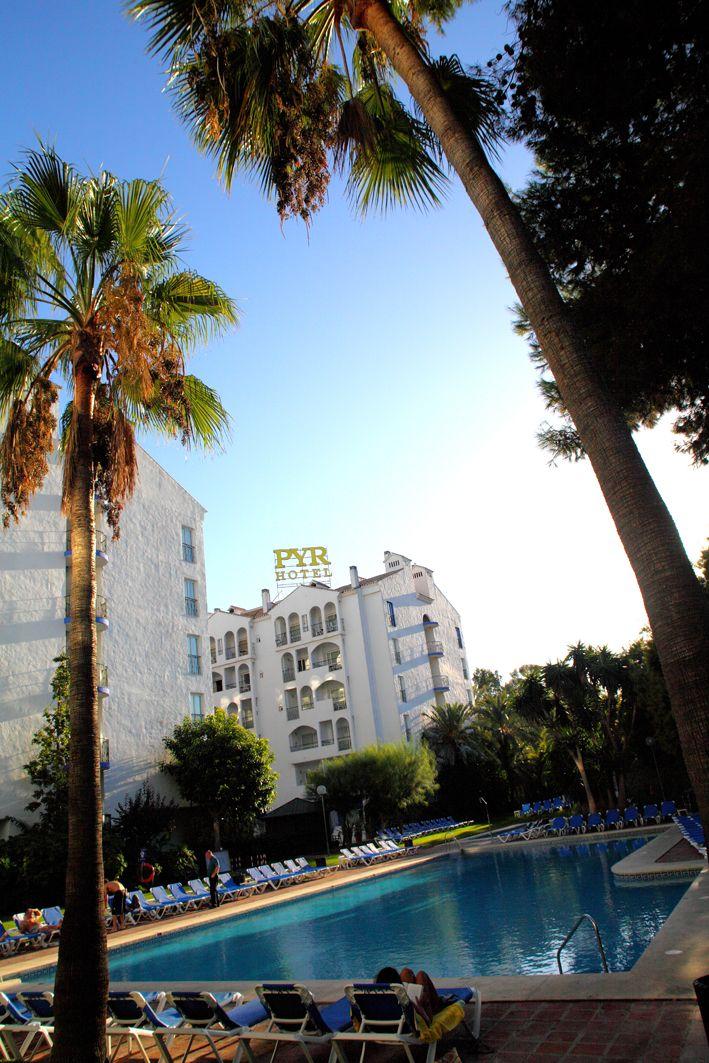 Swimming Pool Area, Hotel PYR Marbella, Puerto Banus, Marbella, Spain,