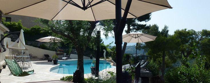 Chambres d'hôtes à Nice-piscine